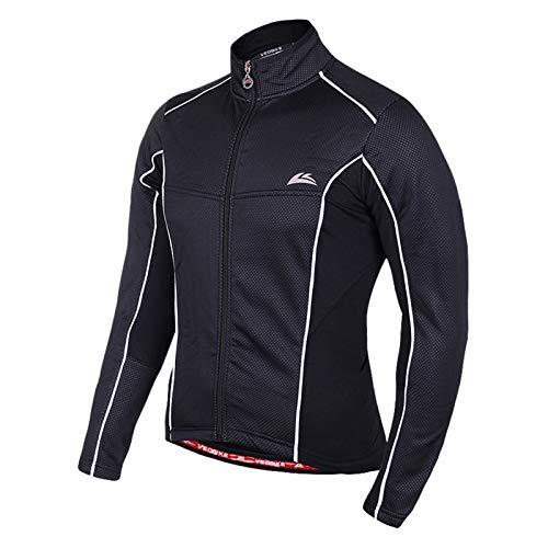 Beydodo Long Sleeves Bodysuit for Women Bicycle Shirt Long Sleeve Men Black Outdoor and Running, Racing Sport Bicycle Shirt Size XL