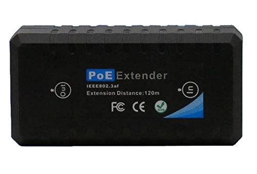 10/100M 1 Port IEEE 802.3af PoE Extender for IP camera