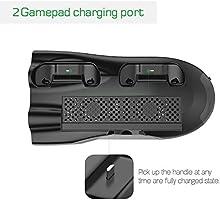 InnoGear Soporte Vertical para Xbox One X Cargador con Ventilador ...