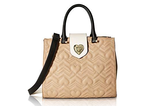 - Betsey Johnson Women's Bag in Bag Satchel Brown Multi One Size