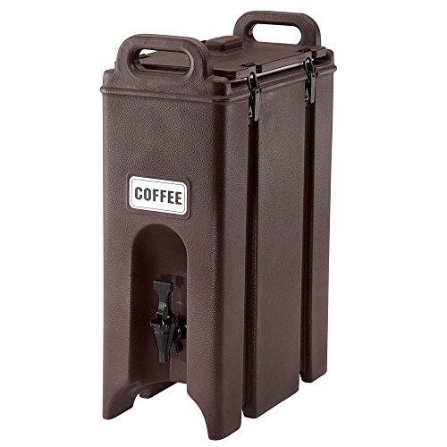 Beverage Dispenser, Dark Brown, Cambro, EA500LCD131