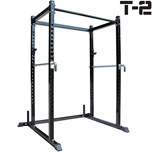 Titan T 2 Series Short Power Rack Squat Deadlift Cage Bench Cross Fit Pull Up