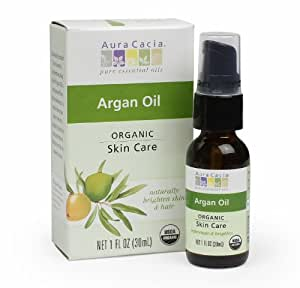 Aura Cacia Organic Skin Care Oil, Argan, 1 Fluid Ounce