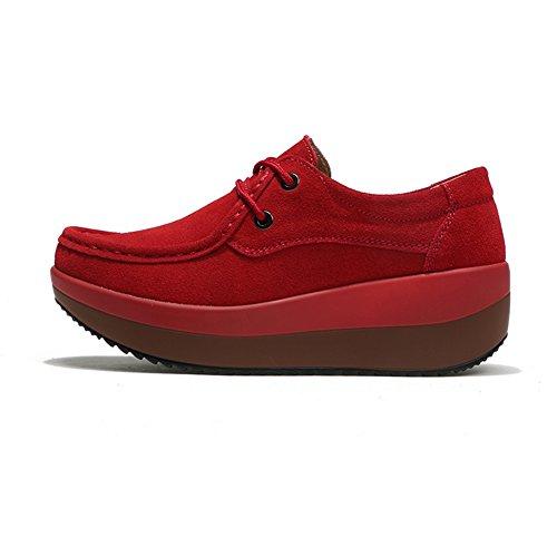 Ville Pour Femme Hkr À Chaussures De Lacets Red 4wvgZzTyqg