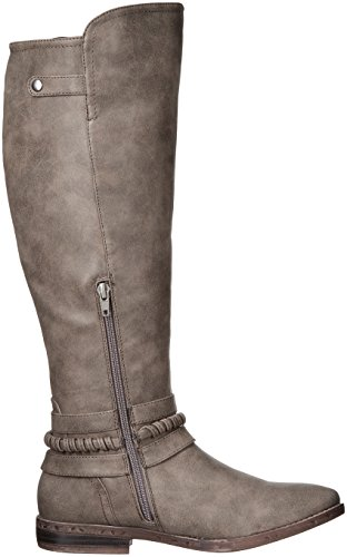 Rampage Women's Indap Riding Boot Taupe Emsje