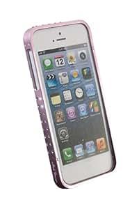 Maclove Angels Circle Cover case Rosa - fundas para teléfonos móviles