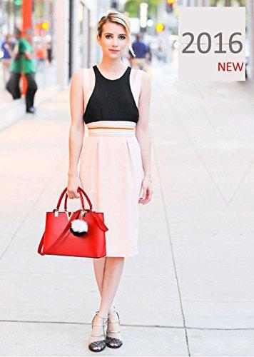 de Yellow main à bandoulière amp;Doris tendance pour casual de femmes Rouge nouvelle minimaliste Nicole sac mode printemps à la les sac wx1H6wSY