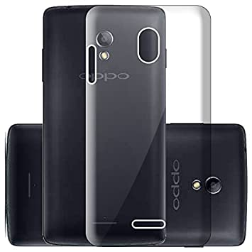save off 03f1d e486a ECellStreet Silicone Soft Back Cover for Oppo R1001: Amazon.in ...