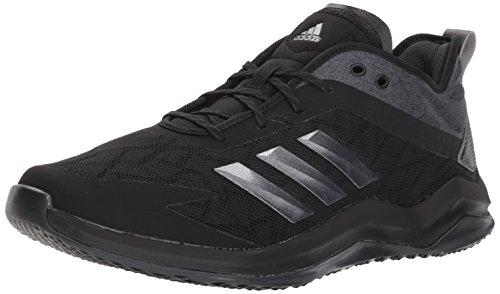 adidas Men's Speed Trainer 4 Baseball Shoe Black/Night Metallic/Carbon 13 M US