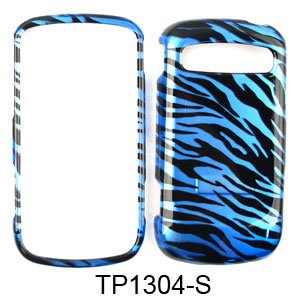 CELL PHONE CASE COVER FOR SAMSUNG ADMIRE / VITALITY R720 TRANS BLUE ZEBRA PRINT ()