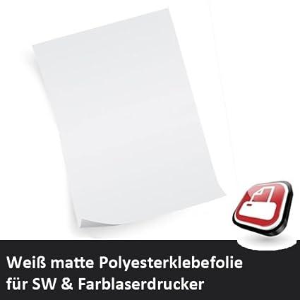 Printbox - Papel adhesivo para impresora láser A3: Amazon.es ...