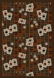 Amazon Com Joy Carpets Games People Play Feeling Lucky Gaming Area