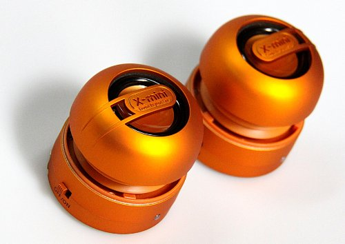 X-Mini MAX XAM15-OR Portable Capsule Speaker System,, used for sale  Delivered anywhere in USA