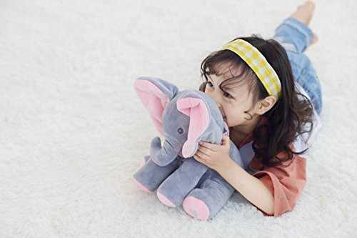 Musical Toys For 1 Year Olds : Mlsh cute elephant plush toys animal doll plush stuffed toy musical