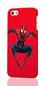 meilinF000The Amazing Spider-Man Pattern Image - Protective 3d Rough Case Cover - Hard Plastic 3D Case - For iphone 4/4smeilinF000