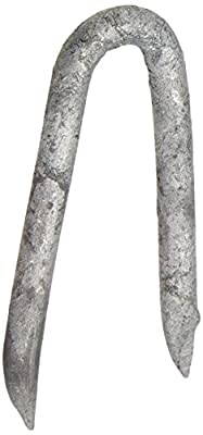 NATIONAL NAIL 50095 5-Pound 1-1/2-Inch Galvanized Staple