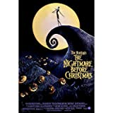(27x40) The Nightmare Before Christmas Style A1 Movie Poster