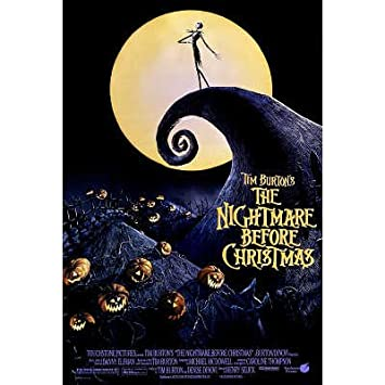 Amazon.com: (27x40) The Nightmare Before Christmas Style A1 Movie ...