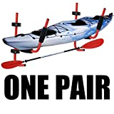 XFMT Kayak Ladder Wall Mount Storage Rack Bike Surfboard Canoe Folding Hanger