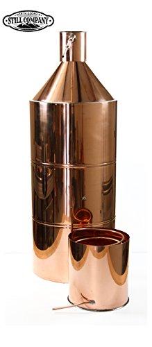 North Georgia Still Company 40 Gallon Copper Moonshine Still with 5 Gallon Worm, 1/2 OD Copper Tubing & Ball Valve Drain Port by North Georgia Still Company price tips cheap