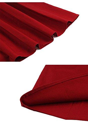 Misseurous Damen Cocktail Kleid Schwarz schwarz 01.L RED CIjZxlb