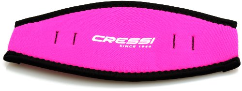 - Cressi Neoprene Mask Strap Cover, pink