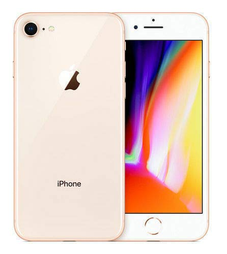 Apple iPhone 8, GSM Unlocked, 64GB - Gold (Renewed) (Verizon Smartphone Trade In For Iphone 6)