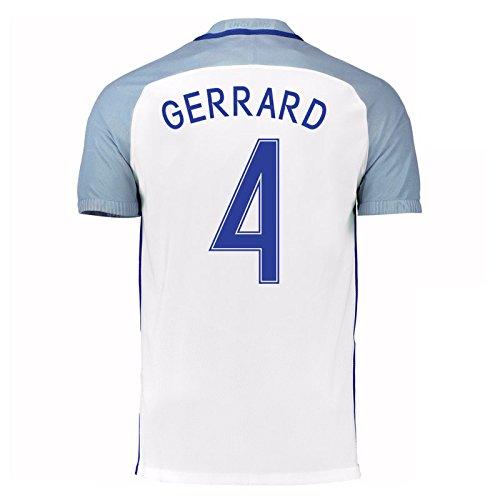 2016-17 England Home Shirt (Gerrard 4) B01ERK5VNY
