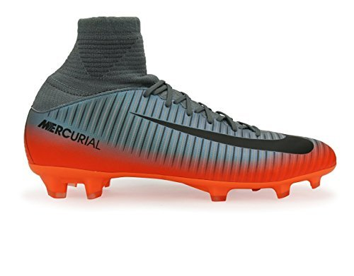 27094ca6a954 Galleon - Nike Kids Mercurial Superfly V Cr7 Fg Cool Grey Metalic  Hematite Wolf Grey Soccer Shoes - 4Y