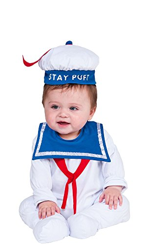 Stay Puft Marshmallow Infant Costume (HalloCostume Baby Stay Puft Marshmallow Man Costume - Ghostbusters)