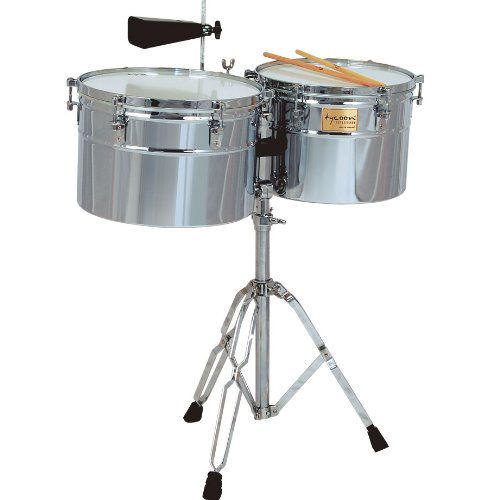 Tycoon 14'' & 15'' Extra-Deep Shell Timbales - Chrome Finish