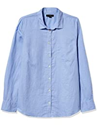 J.Crew Women's Perfect Linen Shirt in Solid