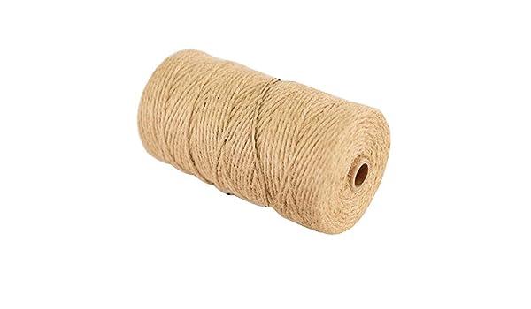 Cuerda de cáñamo - 3mmX200m Cuerda de cáñamo decorativa ...
