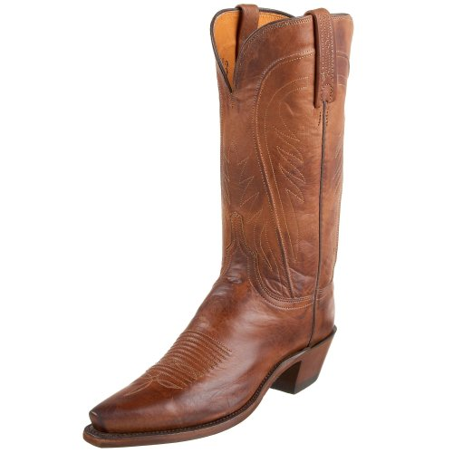 - 1883 by Lucchese Women's N4604 5/4 Western Boot,Tan Burnish,7 B(M)US