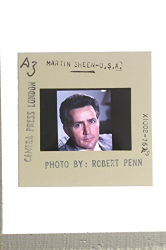 (Slides photo of Portrait of Martin Sheen.)