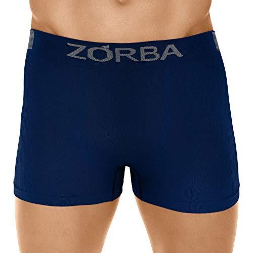 Cueca Boxer Seamless Trendy,Zorba,Masculino,Marinho,M