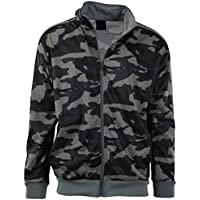 ChoiceApparel Mens Full Zip Up Warm Up Track Jacket