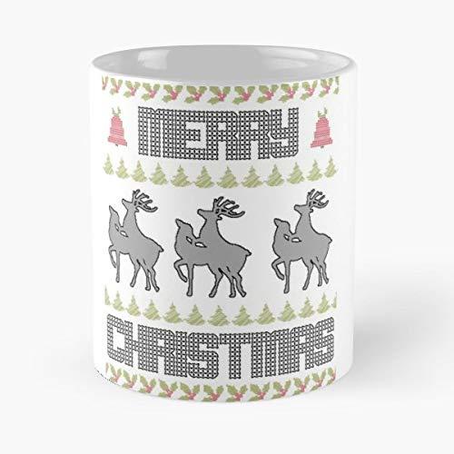 Ugly Chr Tea, Coffee Mugs Funny Girf For Holiday.