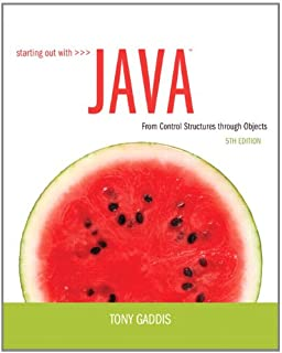 Starting out with java from control structures through objects starting out with java from control structures through objects 5th edition fandeluxe Image collections