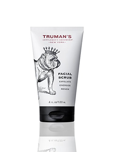 Trumans Gentlemens Groomers Mens Facial Scrub - Deep Cleansing & Exfoliation for Natural Manly Pores