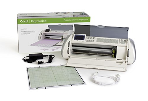 - Cricut Expression 1 Electronic Cutting Machine with no cartridges included