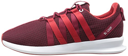 Sl M Solide Running Boucle Collegiate Whit Light Scarlet Burgundy Noir Blanc 8 Gris Us Adidas Lifestyle Racer Originals Sneaker A5FPqwg