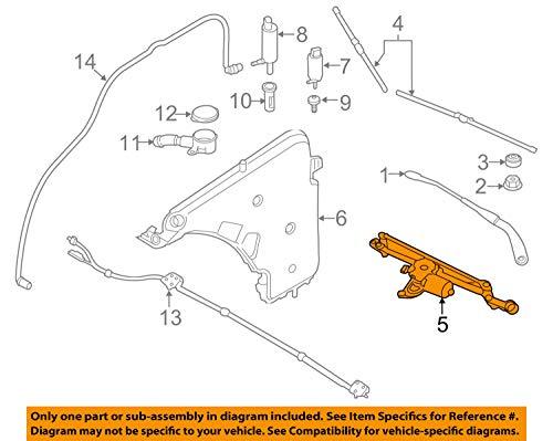 - BMW 61 61 7 260 488, Windshield Wiper Motor