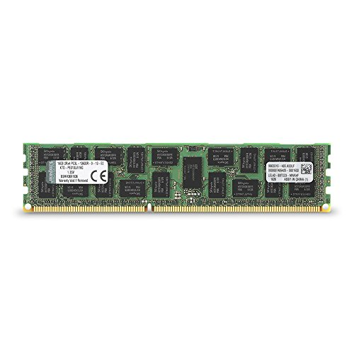 Kingston Technology 16GB 1333MHz Reg ECC Low Voltage Memory Module for Dell (KTD-PE313LV/16G)