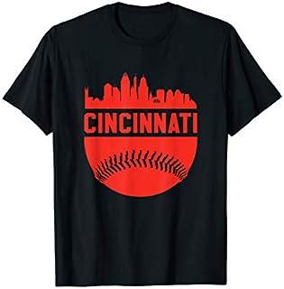 Vintage Downtown Cincinnati  Baseball Retro Ohio State T-shirt | Size S - 5XL