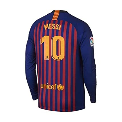 competitive price 3fa7e 92db3 Amazon.com : ProApparels Messi Jersey Barcelona Long Sleeves ...