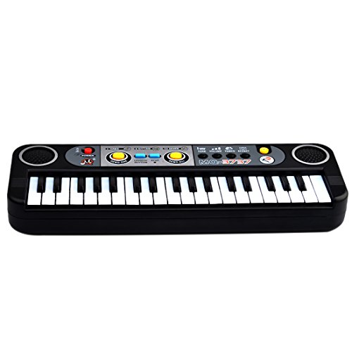 Piano for Kids, Yamix Multi-function Educational Toy 37 Key Electronic Organ Music Keyboard Small Electronic Keyboard Piano Organ Musical Teaching Keys Keyboard Toy For Kids Children - Bookcase Boss