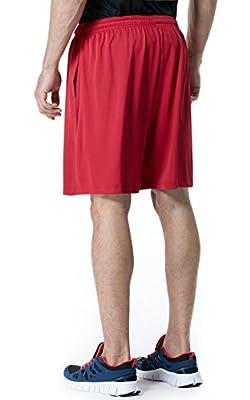 Tesla Men's Active Shorts Sports Performance HyperDri II With Pockets MBS01 / MBS02