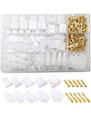 Ruidee 380 pcs Automotive Electrical Wire Connectors Kit 2.8mm 2 3 4 6 Pin Wire Connector Housing Terminal Male Female Plug Assortment Kit