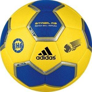 adidas Stabil III MS - Balón de balonmano amarillo sun/cobalt ...